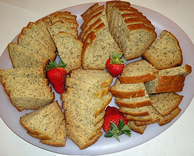 Great banana bread. I love banana bread, how about you?