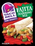Taco Bell Chicken Fajita Seasoning Mix recipe