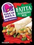 Taco Bell Chicken Fajita Seasoning Mix recipe